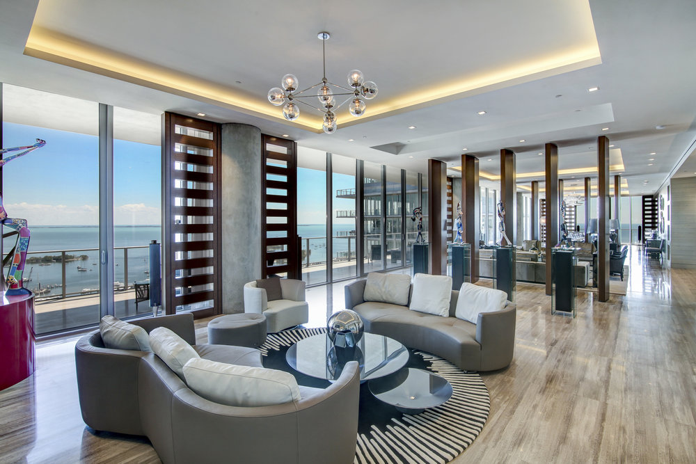 Check Out This $29 Million Penthouse In Bjark Ingels' Grove at Grand Bay With Over $1 Million In Art