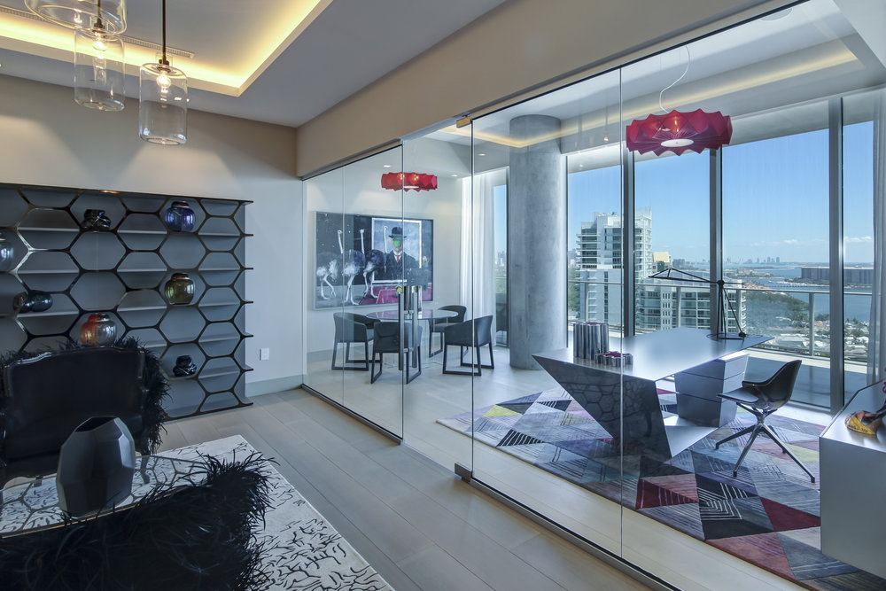 Check Out This $29 Million Penthouse In Bjark Ingles' Grove at Grand Bay With Over $1 Million In Art