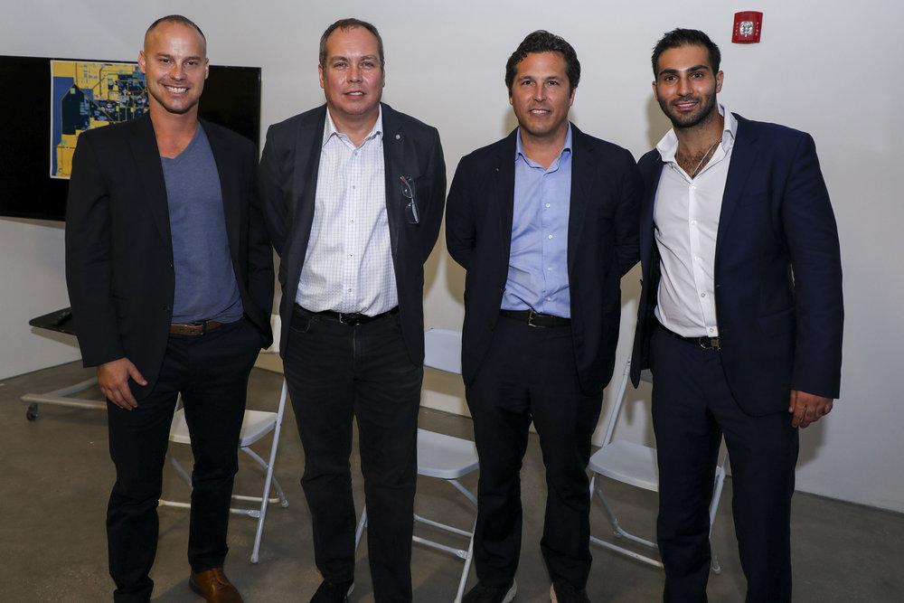 Jeremy Waks, John Cardello, Martin Pinilla and Demetri Demascus.