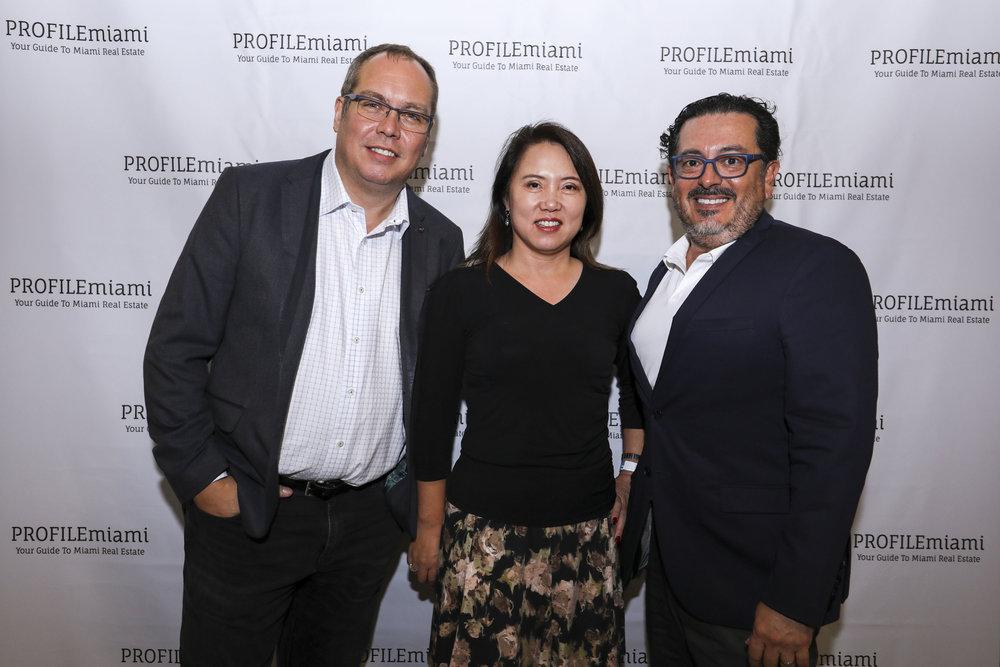 Jon Cardello, Lynn Yunn and Eduardo Garcia.