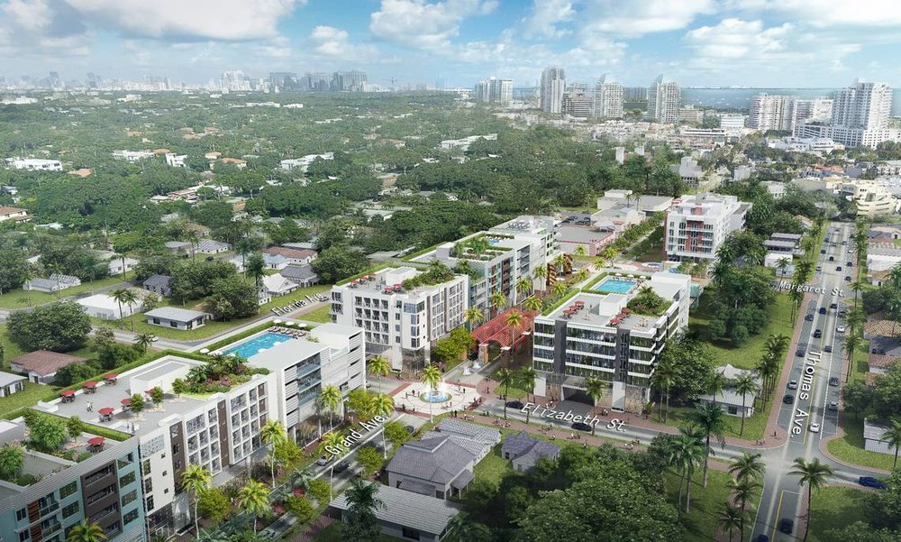 Metronomic Reveals $74 Million Mixed-Use Transformation of Grand Avenue in West Coconut Grove