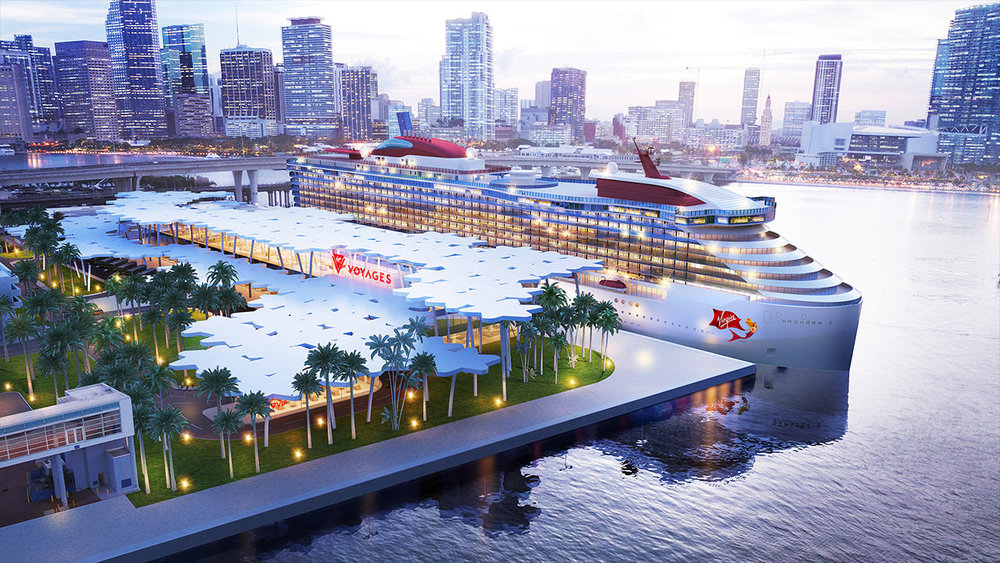 Virgin Continues Push Into South Florida, Reveals New PortMiami Terminal For Virgin Voyages