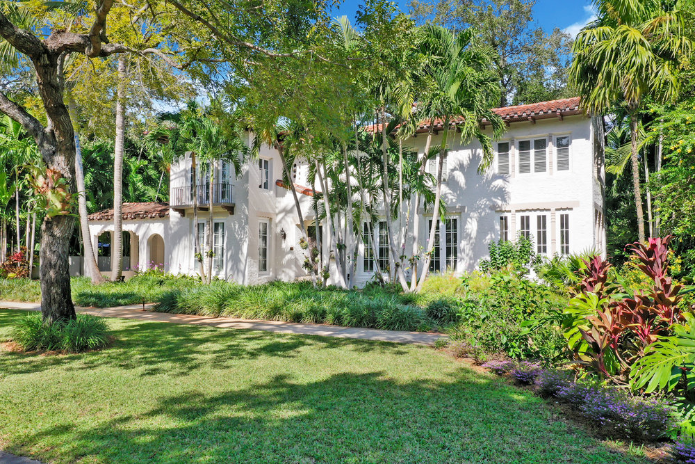 Tour This 1920's Miami Shores Estate Which Just Hit The Market For The First Time