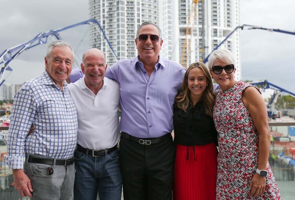 The Estates At Acqualina Completes Foundation Pour For South Tower With Over 1,000 Concrete Trucks