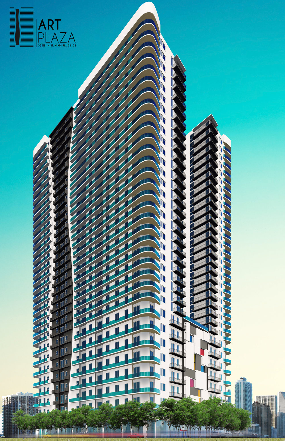 Melo Group Launches Pre-Leasing For Art Plaza Apartments In Downtown Miami