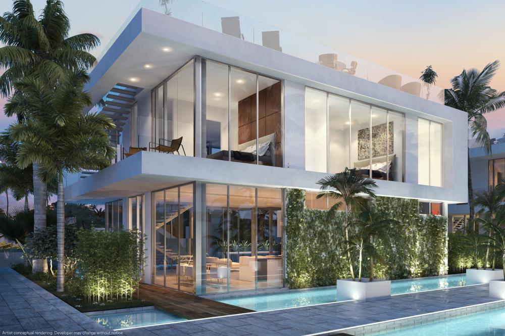 PARAMOUNT Miami Worldcenter Reveals Urban Villas Starting At $3.5 Million
