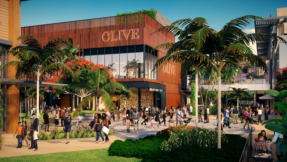 Construction On Esplanade At Aventura Now Underway At Aventura Mall
