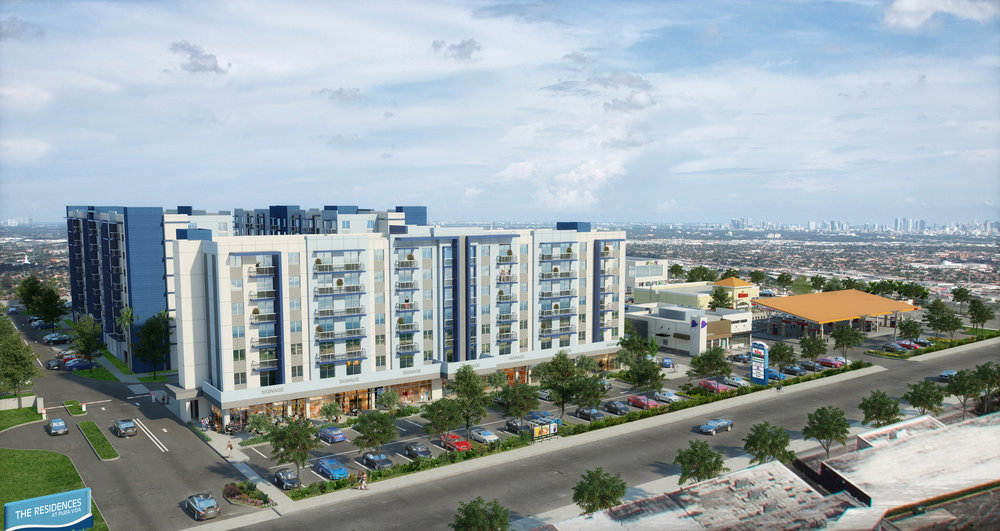 Coral Rock Development Group And Arena Capital Holdings Reveal Pura Vida Hialeah