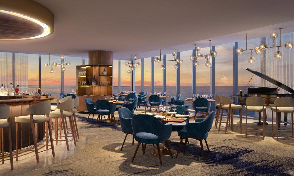 3rd Floor Residents Only Restaurant