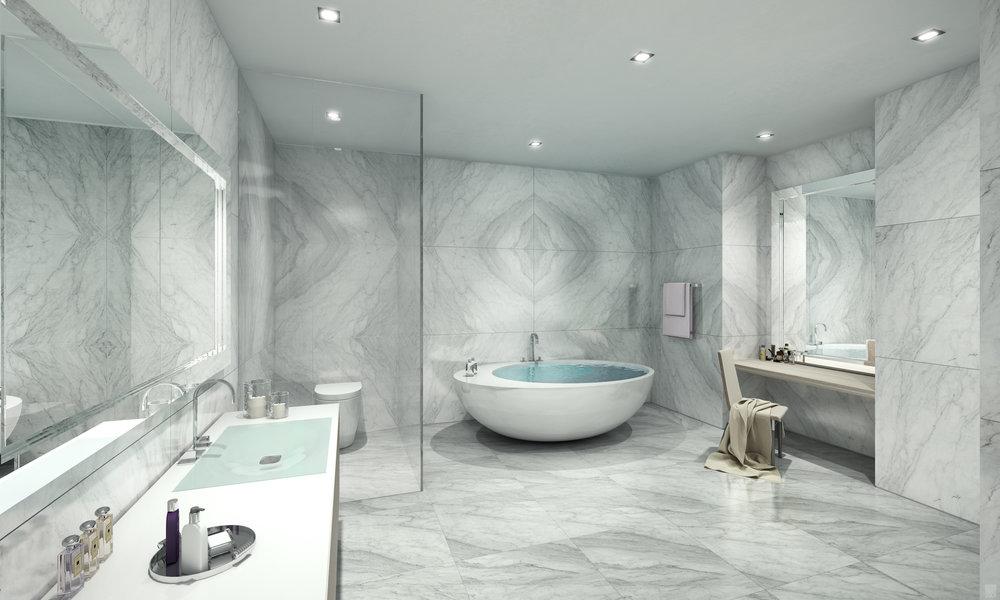 Unit D - Master Bath