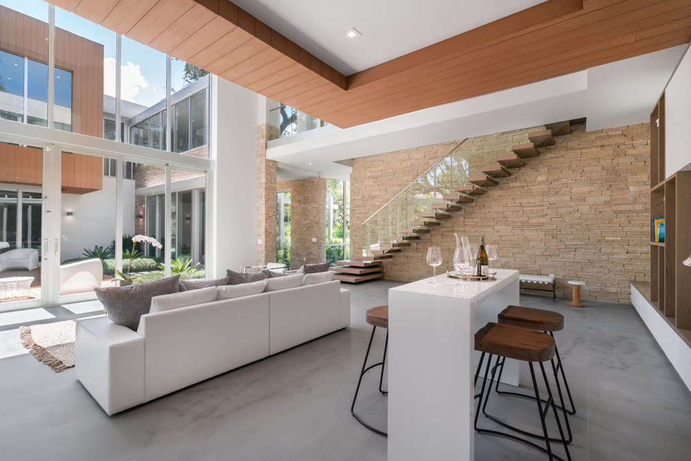 Tour This Glass Covered Architectural Gem Which Just Sold For $5 Million In South Miami