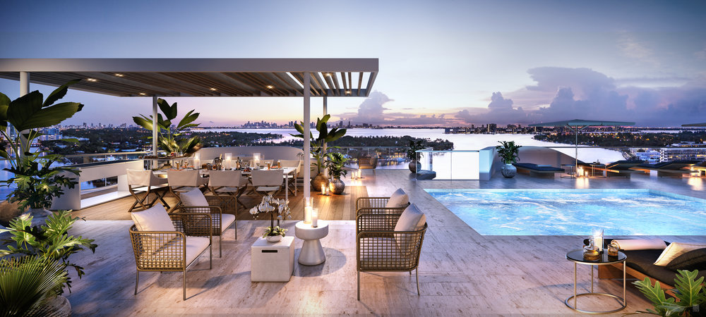 Optimum Development Launches Monaco Yacht Club & Residences With Interiors By Piero Lissoni On Miami Beach