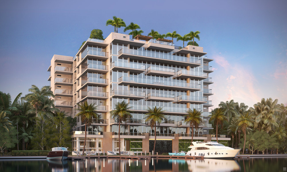 The Revuelta Architecture-Designed Bijou Bay Harbor Tops Off Powering Towards An Expected Completion This Summer 2019