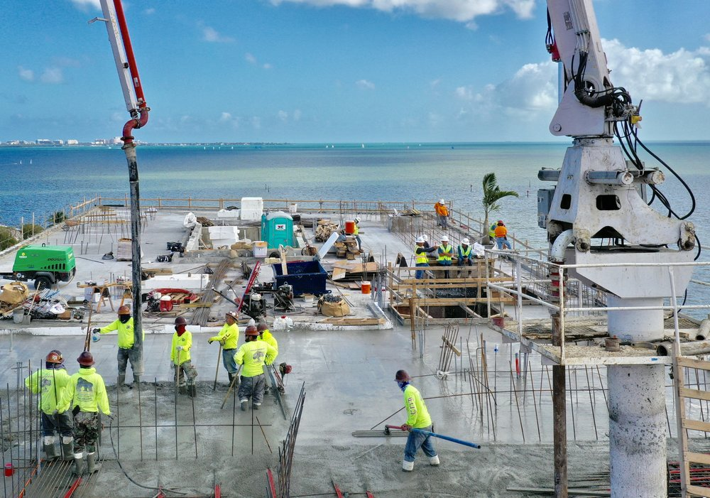 ROVR Development's The Fairchild Coconut Grove Designed By Max Strang Tops Off At 75% Sold