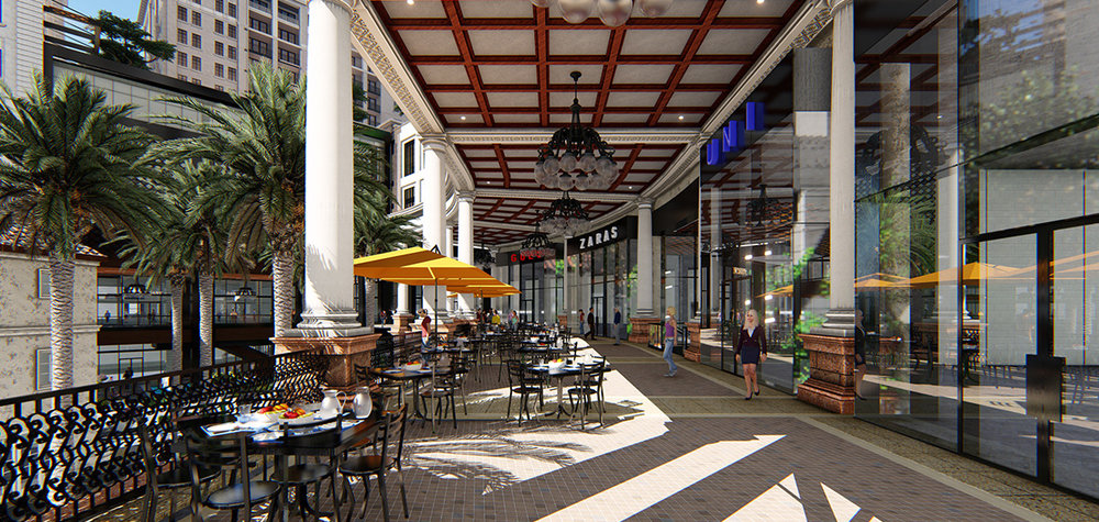 Check Out The Newly Revealed Renderings Of The RTKL-Designed Plaza Coral Gables