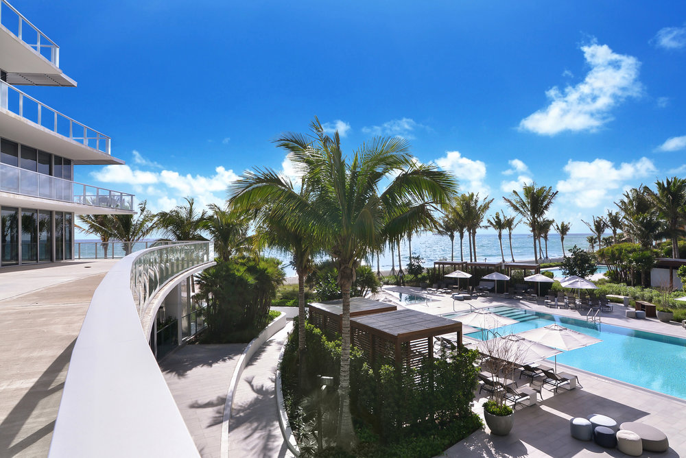 Take A Look At This Oceanfront Condo At The 5-Star Auberge Beach Residences In Fort Lauderdale