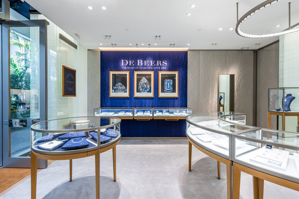 De Beers, the Legendary Home of Diamonds, Opens New Showroom At Bal Harbour Shops
