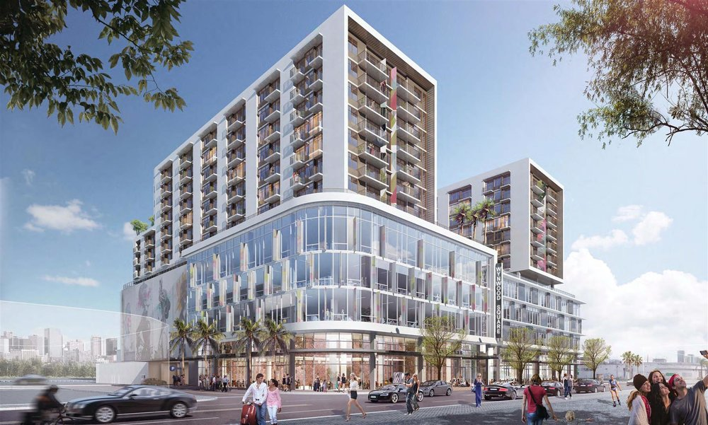 CIM Group & One Real Estate Investments Lock Down Construction Financing For Wynwood Square
