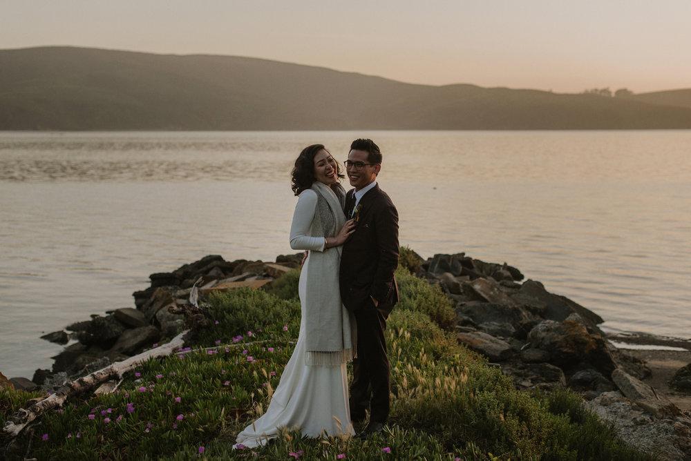 We got married -