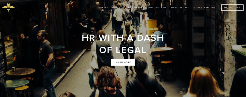 HR with a dash of Legal