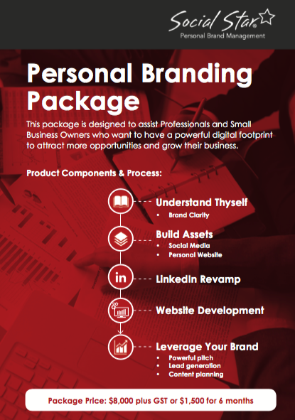 Social Star Personal Brand Foundations Package