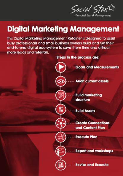 Social Star Marketing Retainer Brochure