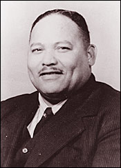 Rev. George Lee   ,  one of the first black people registered to vote in Humphreys County, Mississippi used his pulpit and his printing press to urge others to vote. White officials offered Lee protection on the condition he end his voter registration efforts, but Lee refused and was murdered.