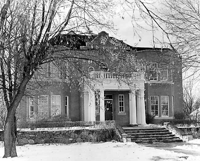 The Rutherford House (Home of Delta Upsilon Alberta from 1929- 1968)