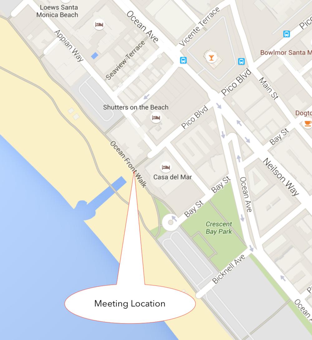 We will meet here: 12775 Millennium Dr. Playa Vista CA. 90094