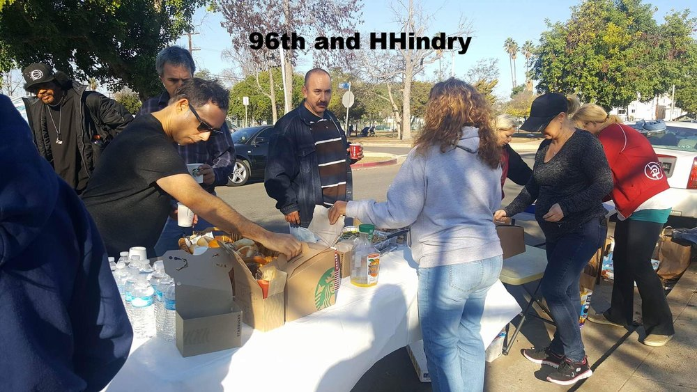 Thanksgiving on 96th and Hindry