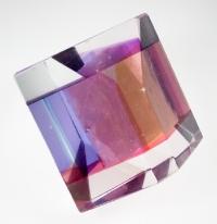 Rose Quartz in Glass