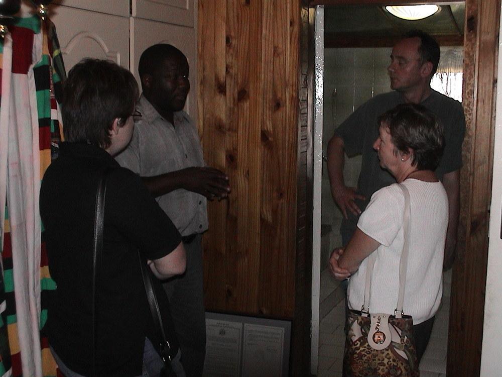 Touring Nelson Mandella's House