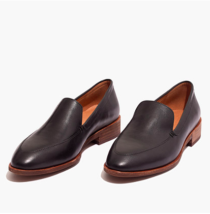 Madewell - Black Loafers
