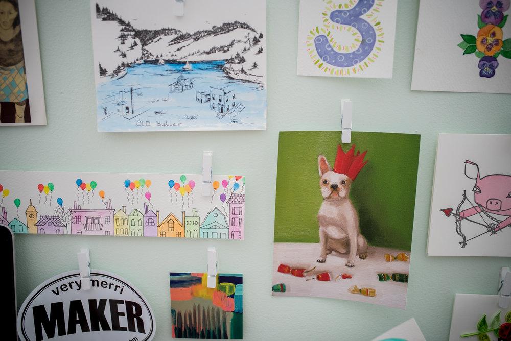 creative community - amy richards illustrations - lifestyle blog