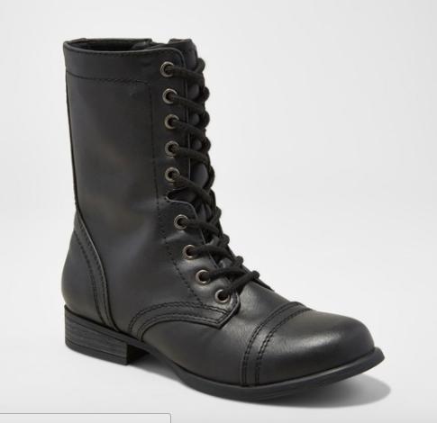 Women's Cassie Combat Boots