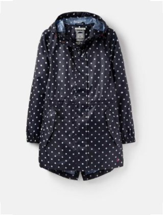 Golightly Navy Spot Waterproof Jacket (similar)