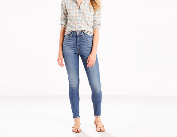 Levi's High Waisted Light Jean
