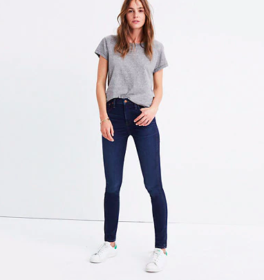 High-Rise Dark Jean - Madewell