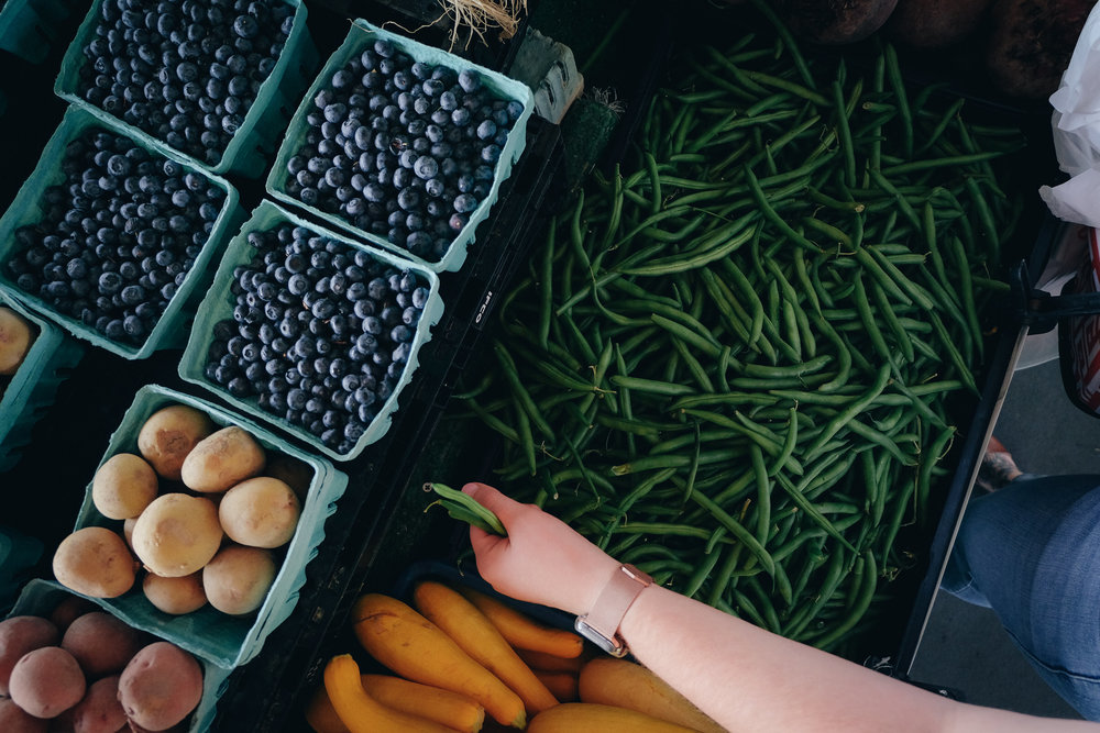 North Carolina State Farmer's Market - State Farmer's Market - Farm to Table Movement - Raleigh Lifestyle Blogger - Organic