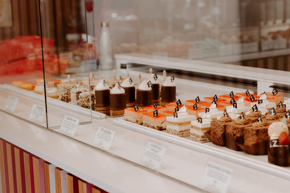 Zumbo's Patisserie  is so dreamy and fun! Our favorite dessert was the Lemon Tart, but everything looks and tastes delish!