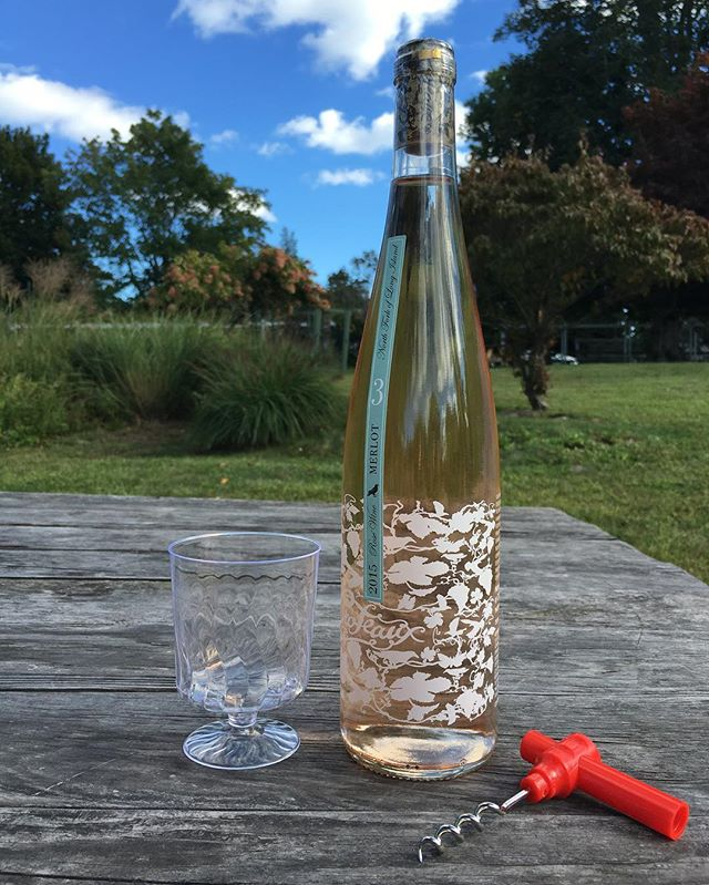 Columbus Day Rosé at the Amagansett Wine Stand. Open 12-7pm today at 367 Main Street, Amagansett.