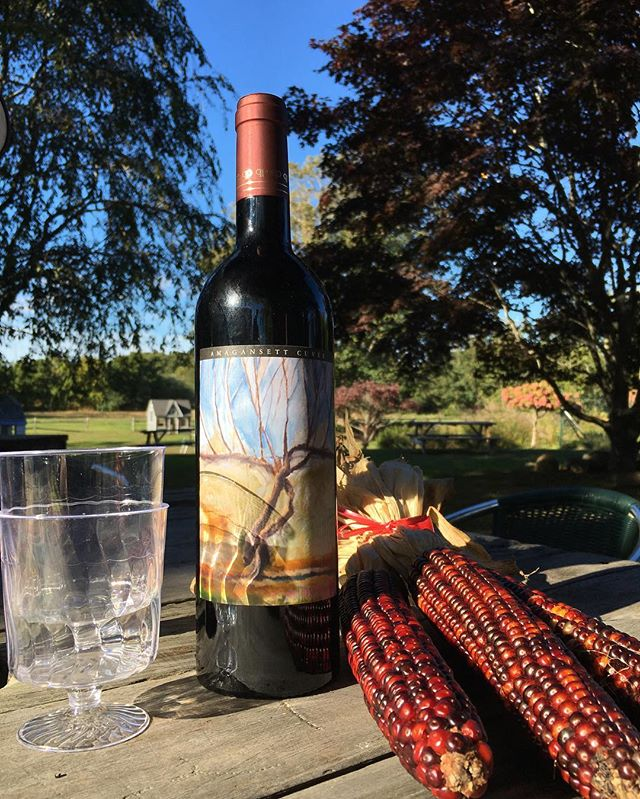 November in Amagansett. Visit us this weekend at the Amagansett Wine Stand for a sampling of our favorite local wines. Open 12-7 at 367 Main St, Amagansett.