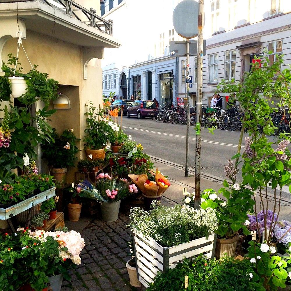 Copenhagen Flower Shop & Street | Alisa Hamilton Research & Translation