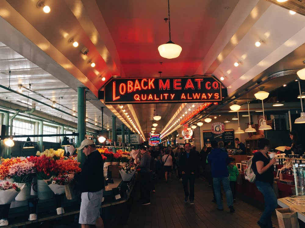 Pike Place Market Seatle