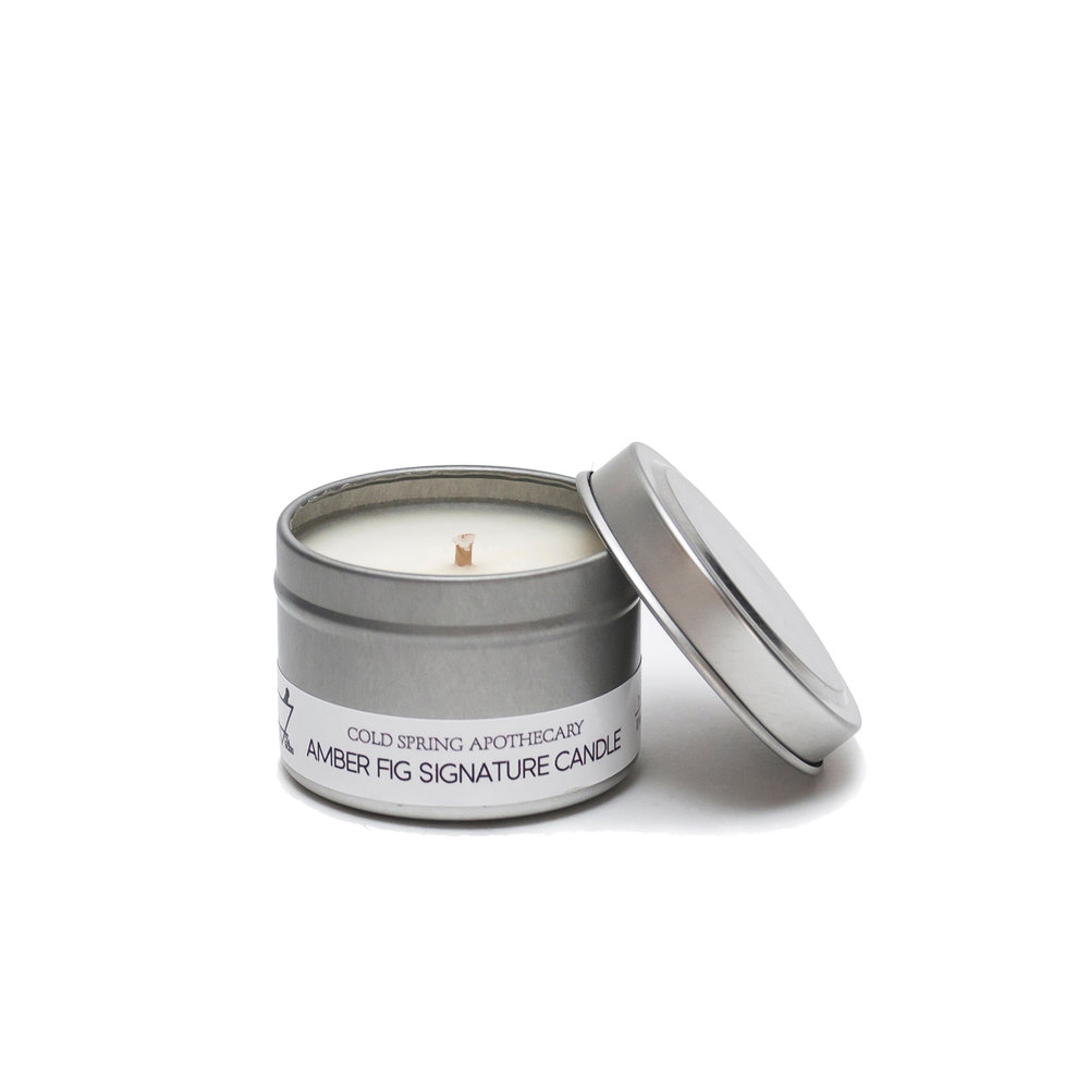 アロマトラベルキャンドル アンバーフィグ ちび Travel Candle  Amber Fig CHIBI  1,400円 +税