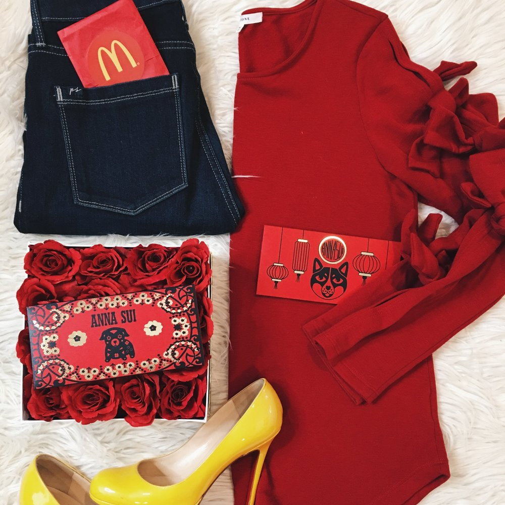 Mc Donalds  Lunar New Year by Tiffany Ishiguro