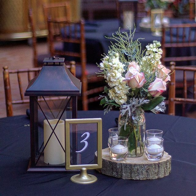 #details and #centerpieces from yesterday's #wedding in @gramercymansion