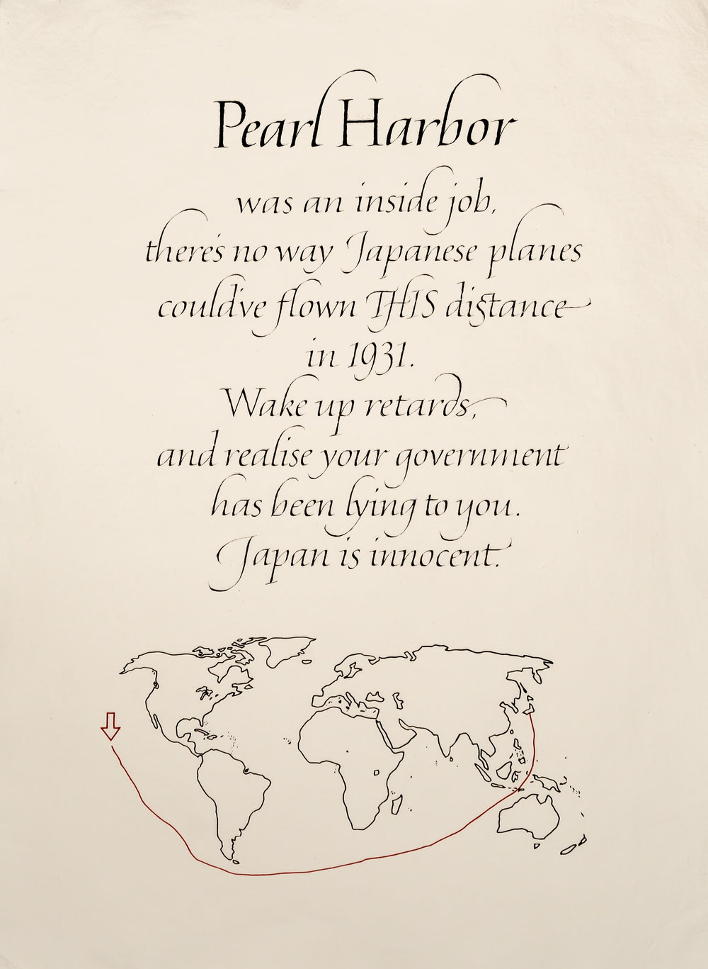 Wright, Matthew - Calligraphy in a Post-truth Era