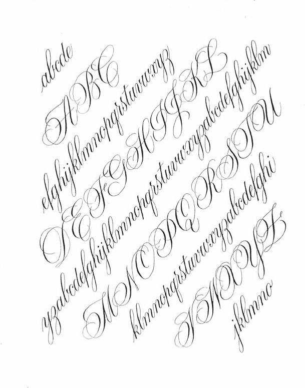february 23 24 and march 23 24 2019 copperplate extended study
