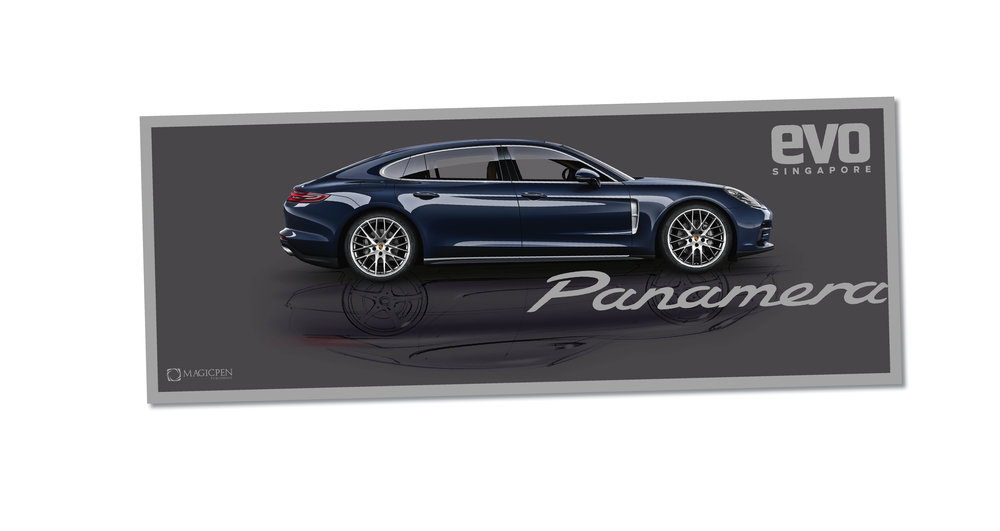 FREE PORSCHE PANAMERA BOOKLET INCLUDED! -